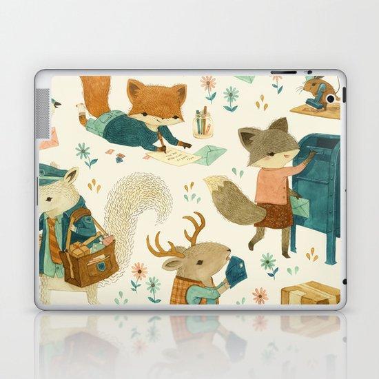 Critter Post Laptop & iPad Skin