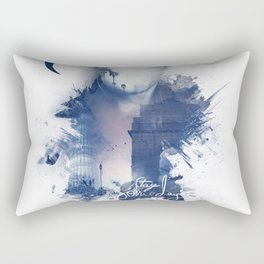NEW DELHI Rectangular Pillow
