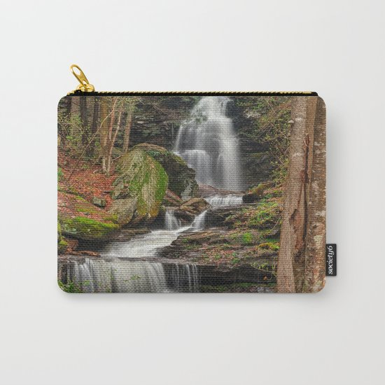 Ricketts Glen Waterfall Layers Carry-All Pouch