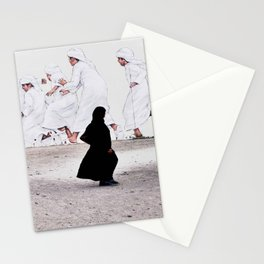 Arabs crossing Stationery Cards