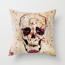 """""""Dead Man"""" Throw Pillow"""