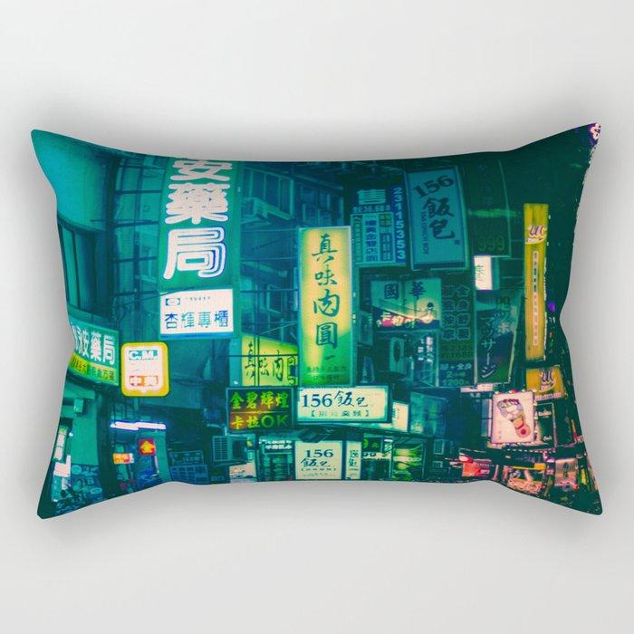 Night Ghosts Rectangular Pillow
