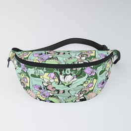 Carnivorous Plants, Tropical edition botany Fanny Pack