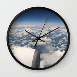 Plane view Wall Clock