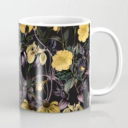 Nocturnal botanical garden kaleidoscope Coffee Mug