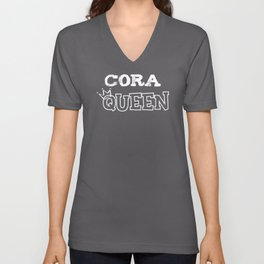 Cora Queen Unisex V-Neck