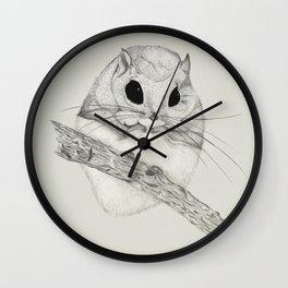 Fuzzball-gray Wall Clock