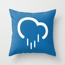 Downpour - Better Weather Throw Pillow