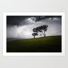 Storm Sky Art Print