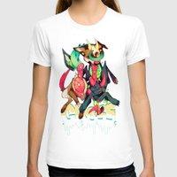 gore T-shirts featuring GLITTER GORE by alipeanut