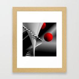 go upstairs -2- Framed Art Print