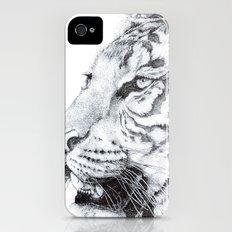 Tiger iPhone (4, 4s) Slim Case