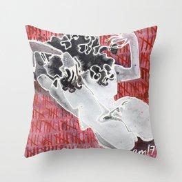 QUEEN OF SLUTS Throw Pillow