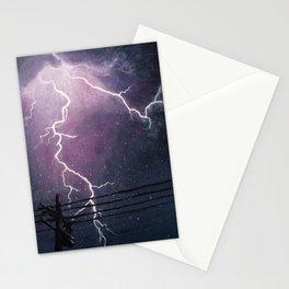 Lightening Show Stationery Cards