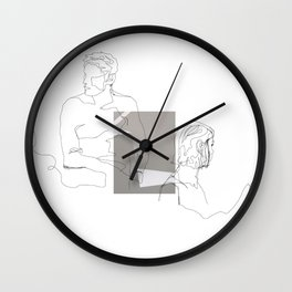 long distance separation Wall Clock