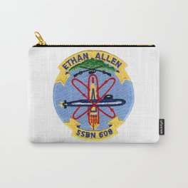 USS ETHAN ALLEN (SSBN-608) PATCH Carry-All Pouch