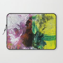 Sweet or Sour // abstract painting Laptop Sleeve