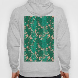 60's Chinoiserie Vines in Peach Hoody