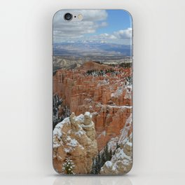 Snow in Bryce Canyon Utah iPhone Skin
