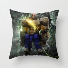 Mecha series // Sagat Throw Pillow