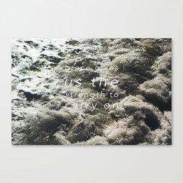 grace. Canvas Print