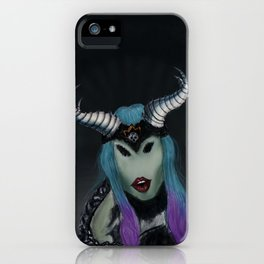 The queen of the occult iPhone Case