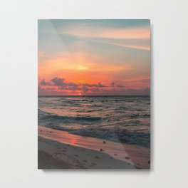 Hawaii sunset #society6 #decor #buyart Metal Print