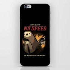 no speed. iPhone & iPod Skin