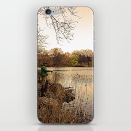 Central Fishing iPhone Skin