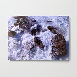 On the Rocks Metal Print