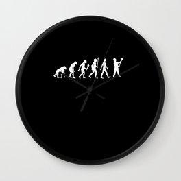 Funny Masonic Evolution Mason Gift Idea Wall Clock