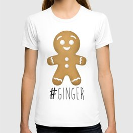 #Ginger T-shirt