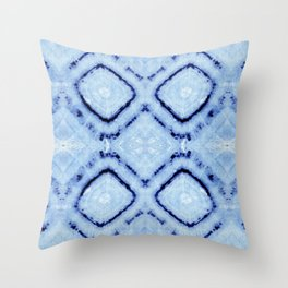Tie-Dye Dia Sky Throw Pillow