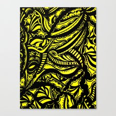 Yellow Lover Canvas Print