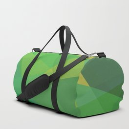 Polygon print bright colors #society6 #decor #buyart #artprint Duffle Bag