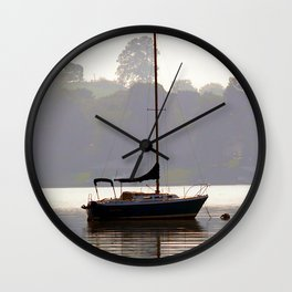 At Rest in Calm Waters- Photographic Collection Wall Clock
