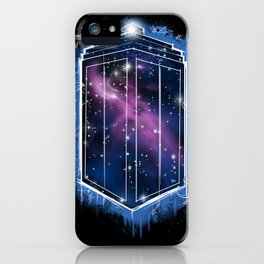Time, Space, and Graffiti  iPhone Case