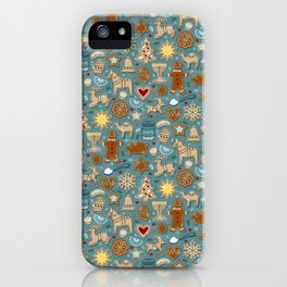 Holiday Sweetness Cookies iPhone Case