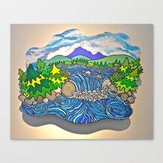 Wild River Kingdom Canvas Print