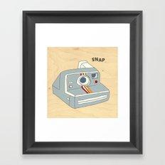 snap Framed Art Print
