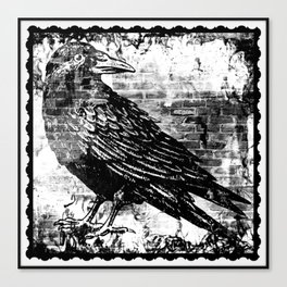 Raven - Infrared Canvas Print