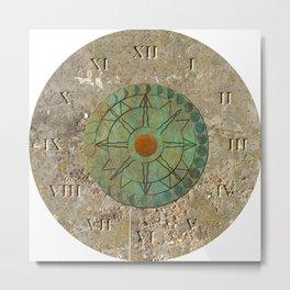 Sundial 01 Metal Print