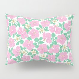 Hibiscus and Plumeria Pillow Sham