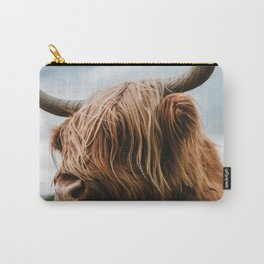 Scottish Highland Cattle - Animal Photography Carry-All Pouch