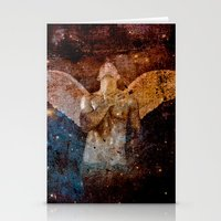 angel Stationery Cards featuring angel  by mark ashkenazi