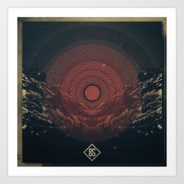 8thS Circle Art Print