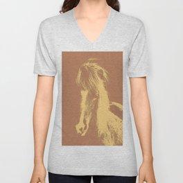 Double Pony Unisex V-Neck