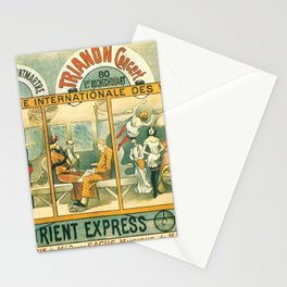 1896 Orient Express Musical Revue Paris Stationery Cards