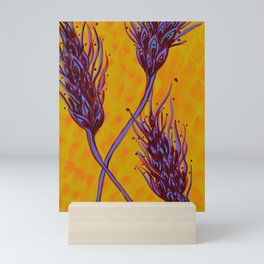 Seed Pods - Wheat Spikes Mini Art Print
