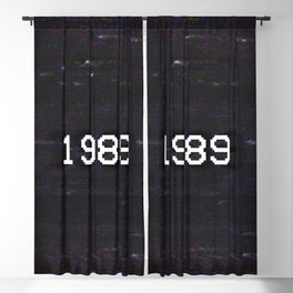 1989 Blackout Curtain